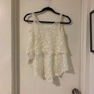 Bhldn Lace Topper- Size Small